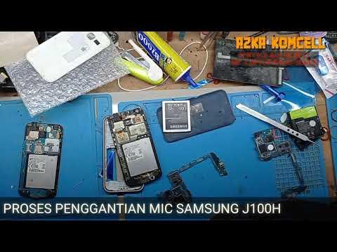 #berbagi-#tutorial-#cara-cara-mengganti-mic-pada-hp-samsung-j100h-1000%-tested..