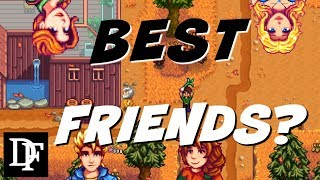 Who Are The Best Npc's To Make Friends With?   Stardew Valley Gameplay Hd