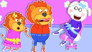 Lion Family Official Channel | Pretend Play Talent Show | Cartoon for Kids