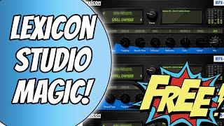 Lexicon MPX-i Reverb (FREE with Presonus Studio Magic)