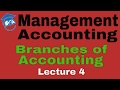 Management Accounting | Different Branches of Accounting | Lecture 4