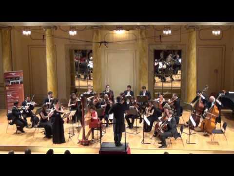 Mozart - Concerto per flauto, arpa e orchestra in do magg K.299
