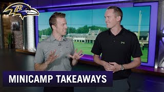 Takeaways From Day 1 of Ravens Minicamp | Baltimore Ravens