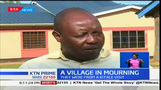 A village in mourning as 17 members from the village lost their lives in the Kamukuywa road accident