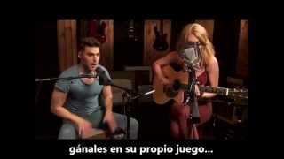 Acapella Subtitulada en Español - Karmin Acoustic Version