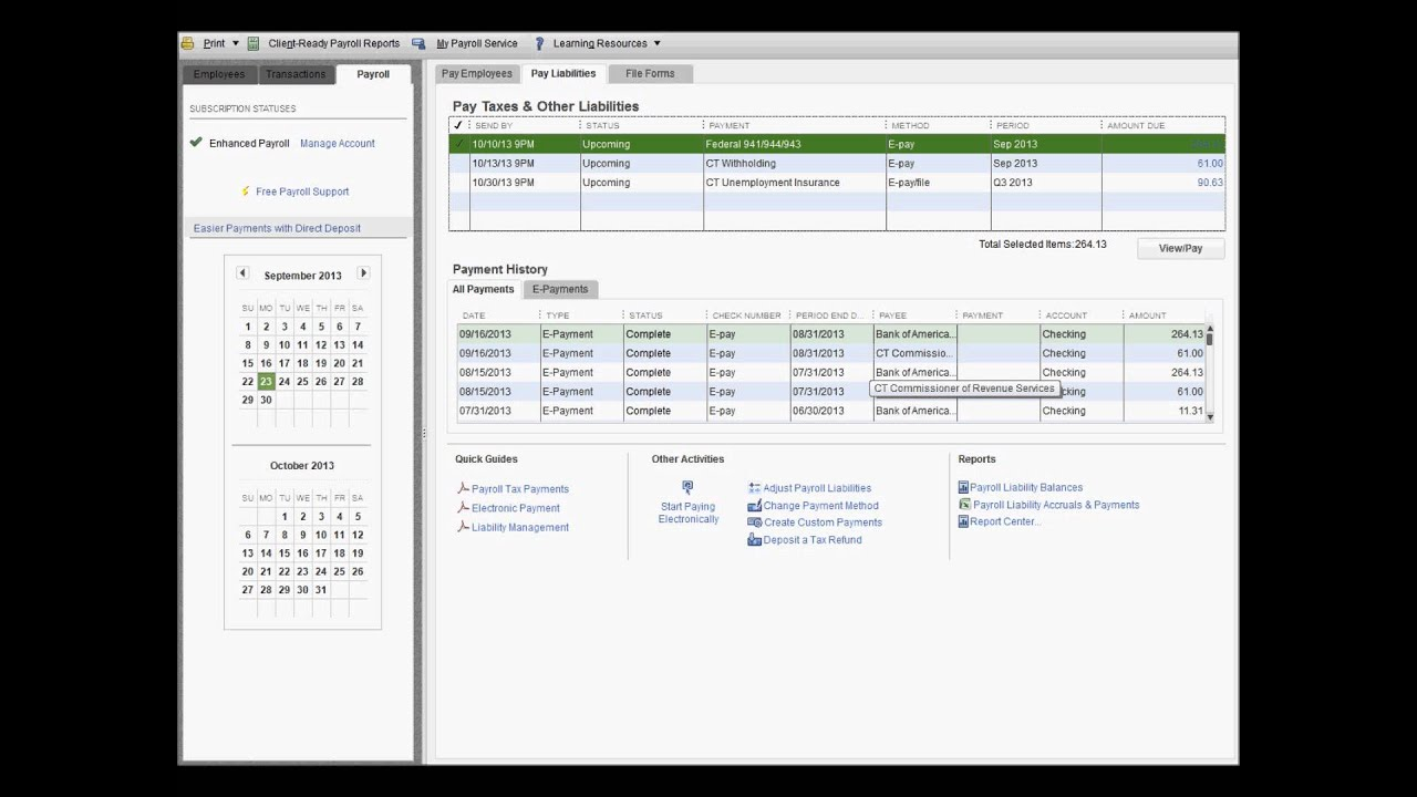 Making EFTPS paymenst through Quickbooks YouTube – Eftps Worksheet