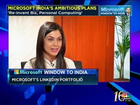 Have Announced Closure Of 'Visionary' LinkedIn Deal: New Microsoft India President