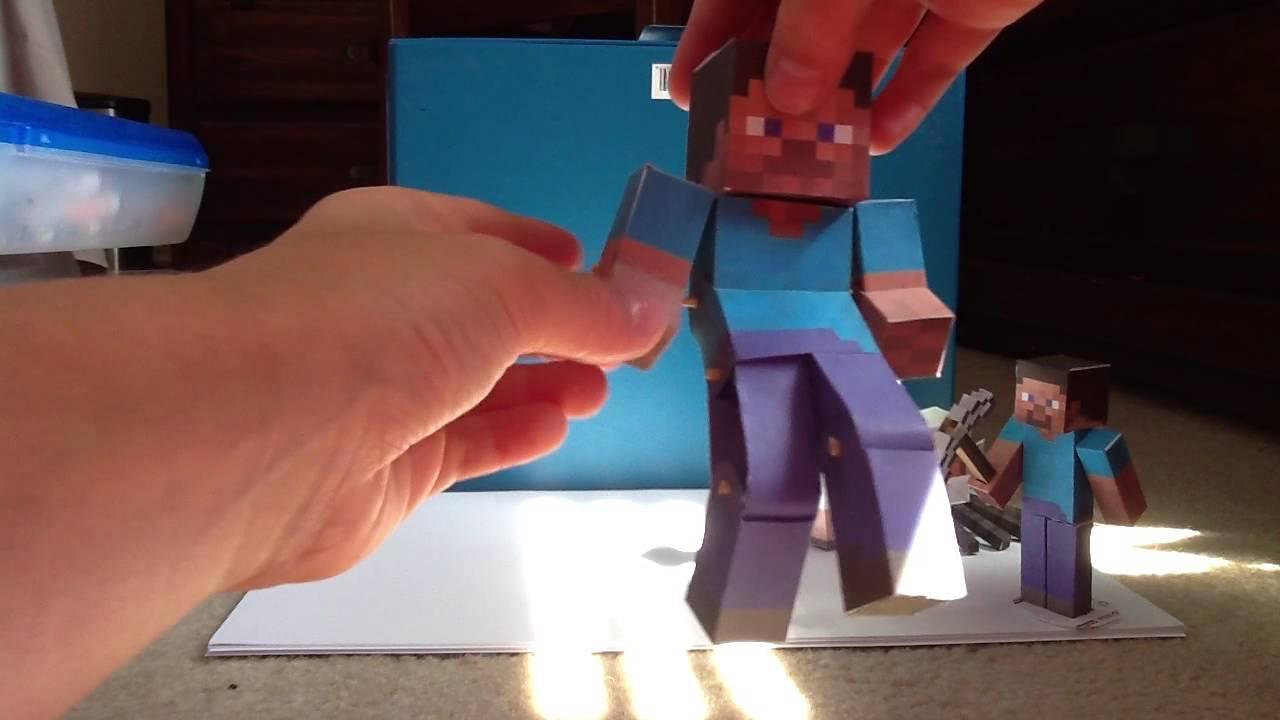 minecraft papercraft update