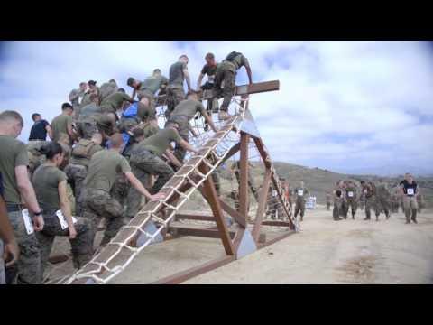 Camp Pendleton Marine Corps Mud Run 2017 B-ROLL