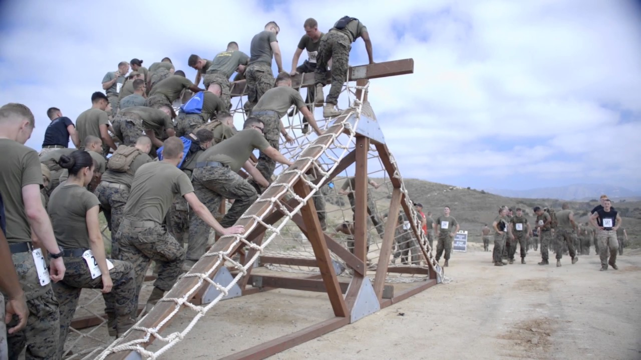 camp pendleton marine corps mud run 2017 b roll youtube