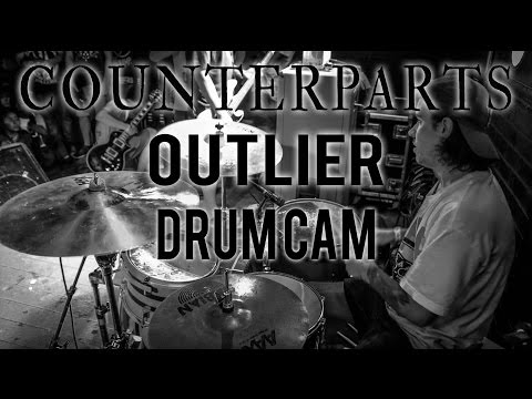 Counterparts Drum Cam - Outlier (LIVE)