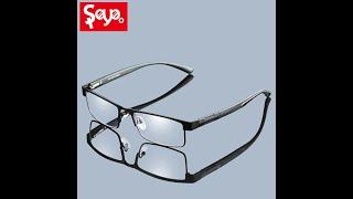 Saylayo титановые очки для чтения винтажные портативные дальнозоркости увеличительные зрения