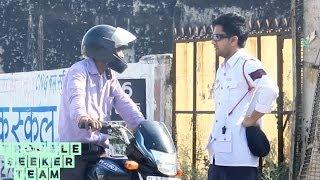 Surprise Traffic Challan Prank | TST Pranks
