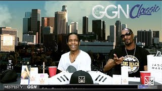 ASAP Rocky freestyle rapping with Snoop Dogg | GGN Classic