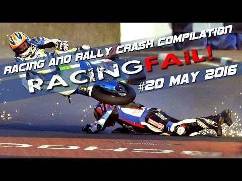 Racing and Rally Crash Compilation Week 20 May 2016