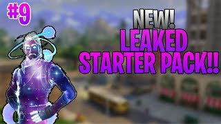 *NEW* Leaked Starter Pack! Fortnite: Battle Royale!