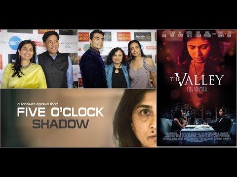 Suchitra Pillai & Alyy Khan at DFW South Asian Film Festival