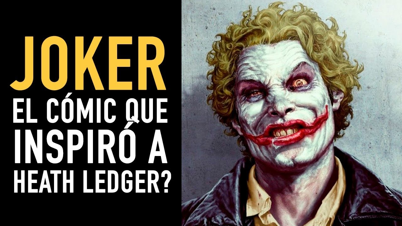 Joker El Comic Que Inspiro A Heath Ledger Comic Narrado