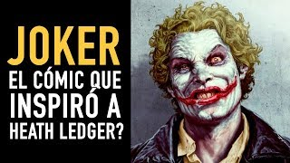 Joker ¿El cómic que inspiró a Heath Ledger? (Comic narrado)