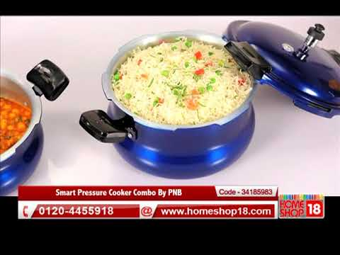4b6586bb76d Smart Pressure Cooker Combo By PNB - YouTube
