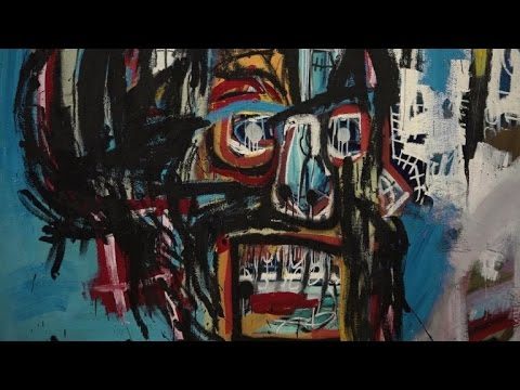 Basquiat sells for $110.5mn in artist's auction record