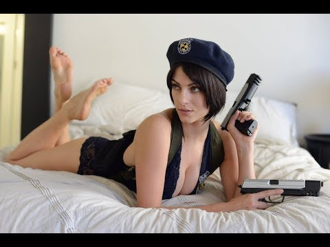 Julia Voth as Jill Valentine Face Model