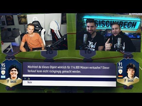 FIFA 18: Die Discard Challenge ... 90+ Icon Discard 😰😰