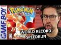 World Champ Reacts to Pokemon Red World Record Speedrun