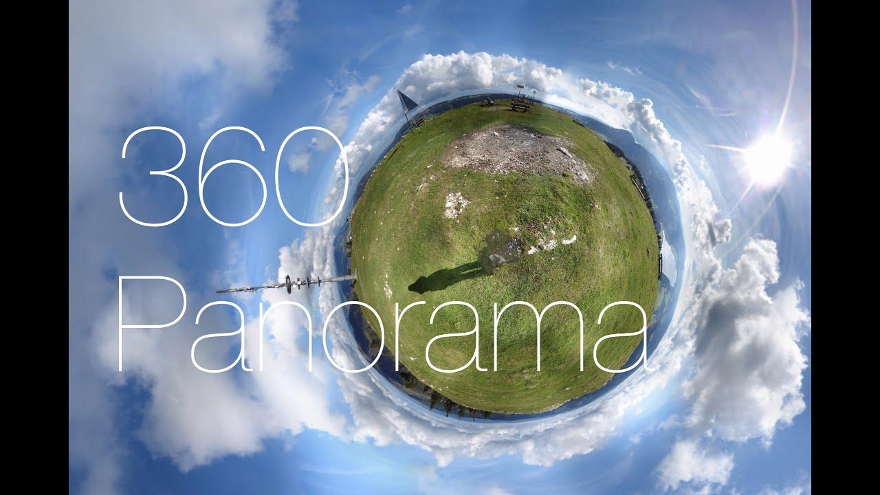 как делать фото 360 градусов