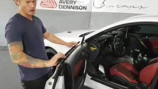 How to dismantle a car. Removing door handles, side mirrors, trim, lights and bumper. By @ckwraps