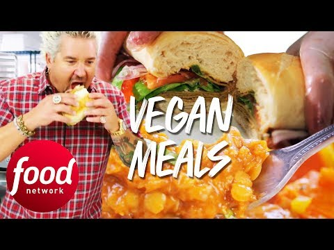 Guy Fieri's Guide To Three DELICIOUS Vegan Meals! | Food Network