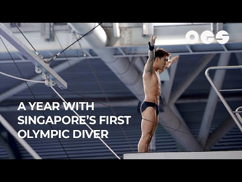 Ten Meters Up: A Year With Singapore's First Olympic Diver