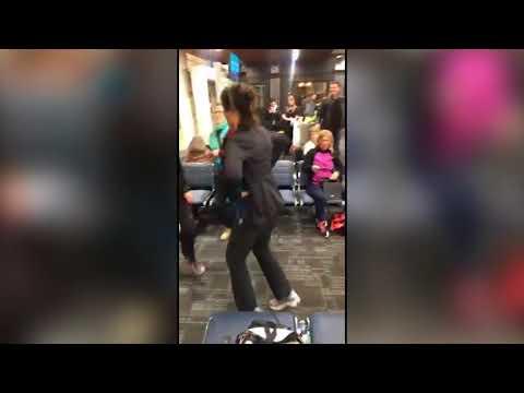 "Flight delay? No Problem! Newfoundlanders host airport ""kitchen"" party"