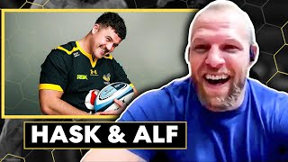 James Haskell and Alfie Barbeary on Rugby Life ! - Restart Rugby Reclined