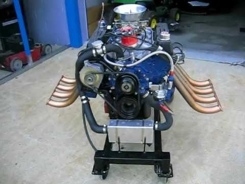 Ford 302 Firing Order >> Ford 351 Cleveland DeTomaso Pantera motor - YouTube