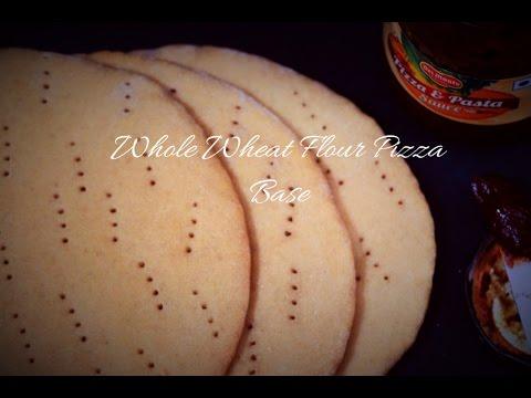 Whole Wheat Flour Pizza Base (Ready To Use Whole Wheat Pizza Base)
