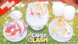 Castle Clash Sneak Peek: Thanksgiving Update! | Christmas Hero! Artifacts! & HBM 3!