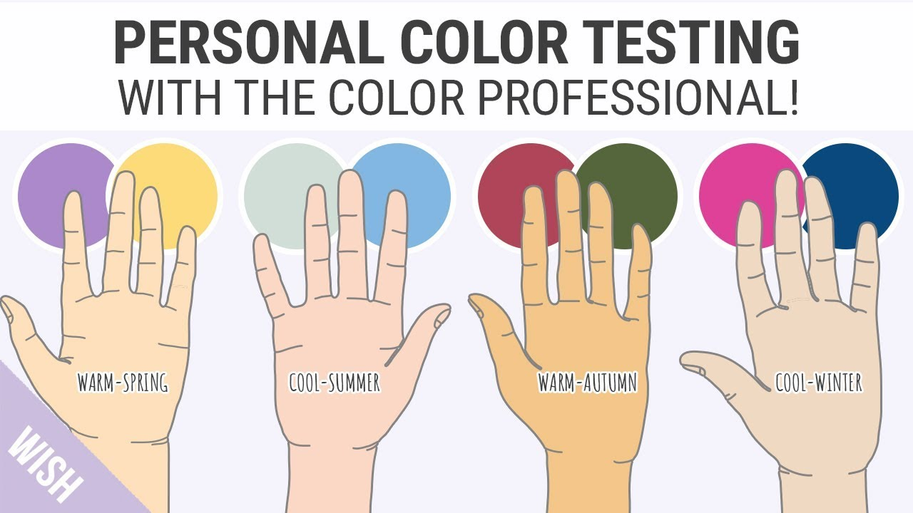 finding your skin undertones easy personal color test with the color professional youtube. Black Bedroom Furniture Sets. Home Design Ideas
