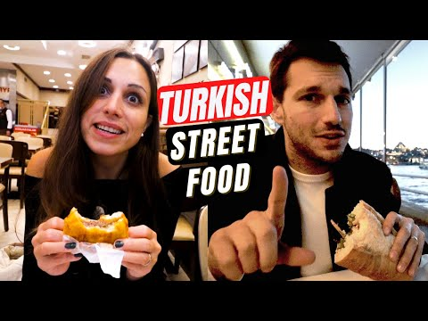 12 REAL TURKISH Street Foods - What Do Turkish People Eat? | INSANELY Delicious