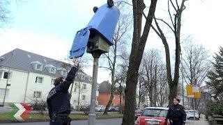 Unbekannte Täter setzen Starenkasten mit Mülltonne außer Gefecht