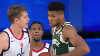 Washington Wizards vs Milwaukee Bucks | August 11, 2020
