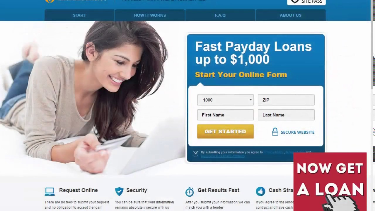 Online Loans For Bad Credit >> Very Bad Credit Loans Fast Payday Loans Up To 1 000 Youtube