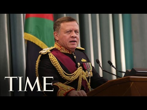 President Trump And King Abdullah II Joint News Conference   TIME
