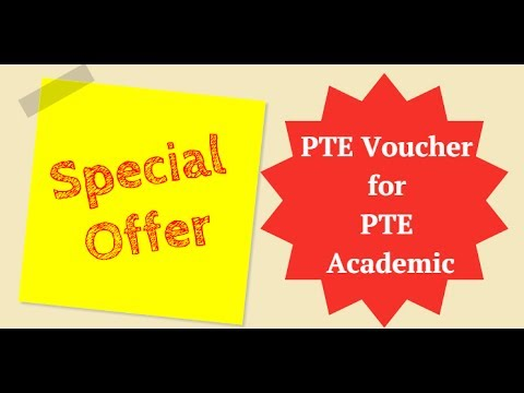 How to book PTE exam using Voucher code?