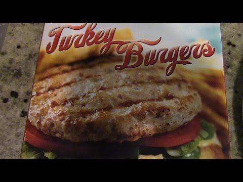 Delicious Turkey Burgers From Trader Joe's