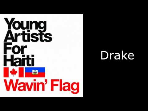 Avril Lavigne (in Young Artist For Haiti) - Wavin' Flag (Aud