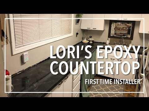 Lori's Epoxy Countertop Project!