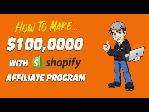 Shopify Affiliate Marketing Program Success (Step by Step Case Study) thumbnail