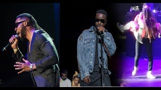 One africa music Fest 2018: Kranium displays sexual prowess, Sarkodie raps, Flavour,  performs.