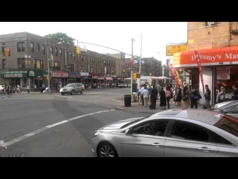 EVO HTC 4G LTE HD video test (NYC Brooklyn rush hour)